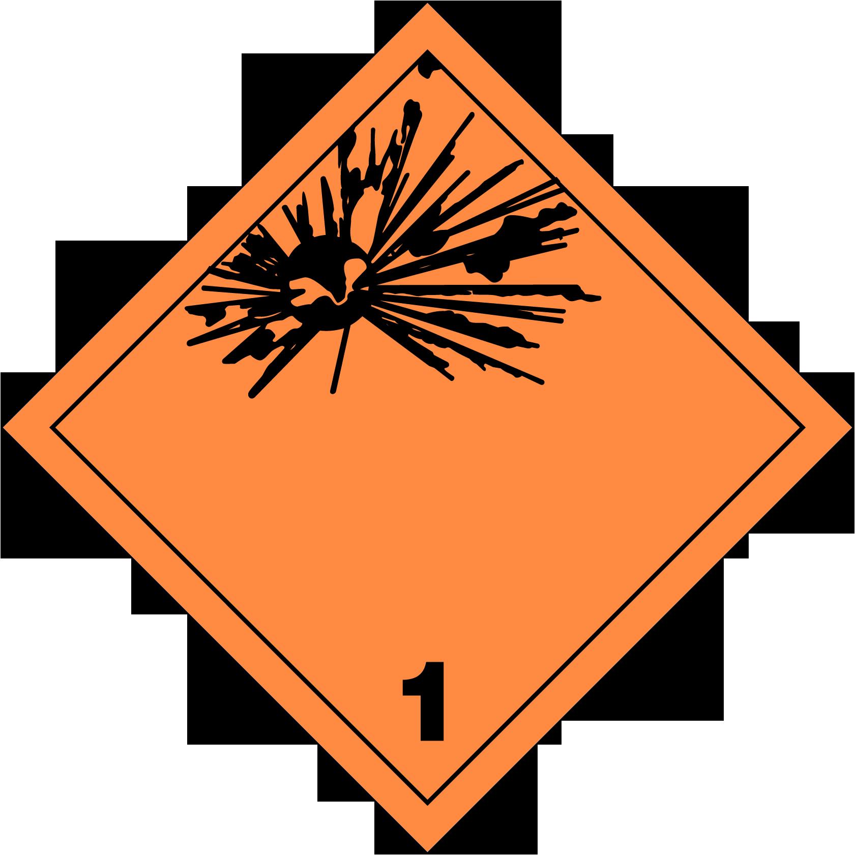 U S Dot Hazardous Material Labels And Placards Risk Management